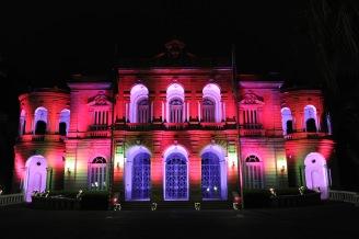 Palácio da Liberdade Minas Gerais arquitetura iluminada